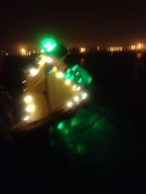 All at sea, the magical ship