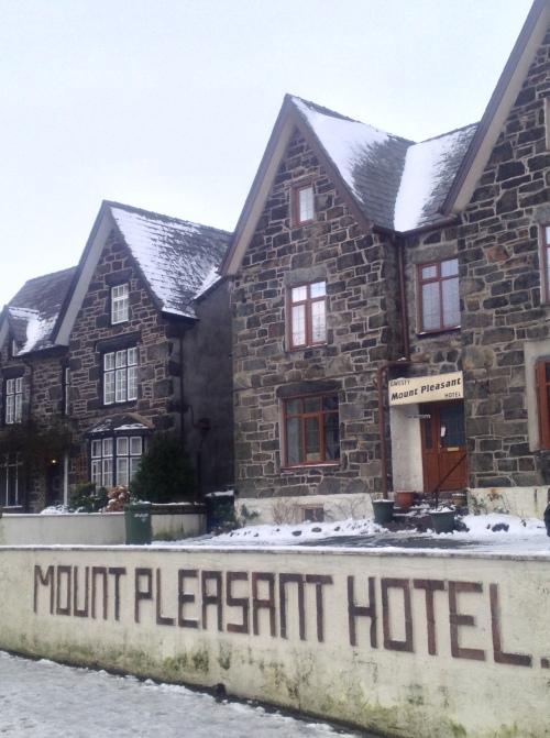 Originally a quarry manager's home, Mount Pleasant Hotel