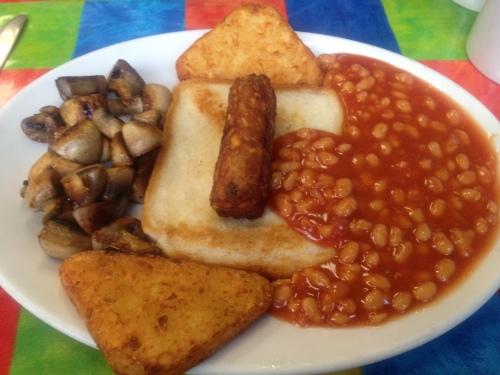 Small veggie breakfast
