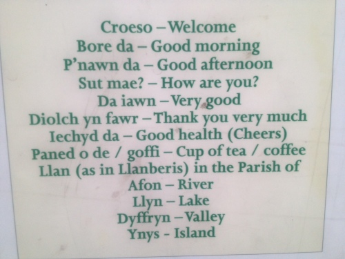 welsh lesson