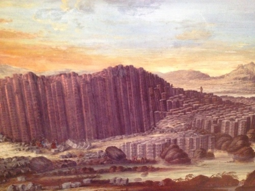 East Prospect of the Giant's Causeway 1739  By Susanna Drury